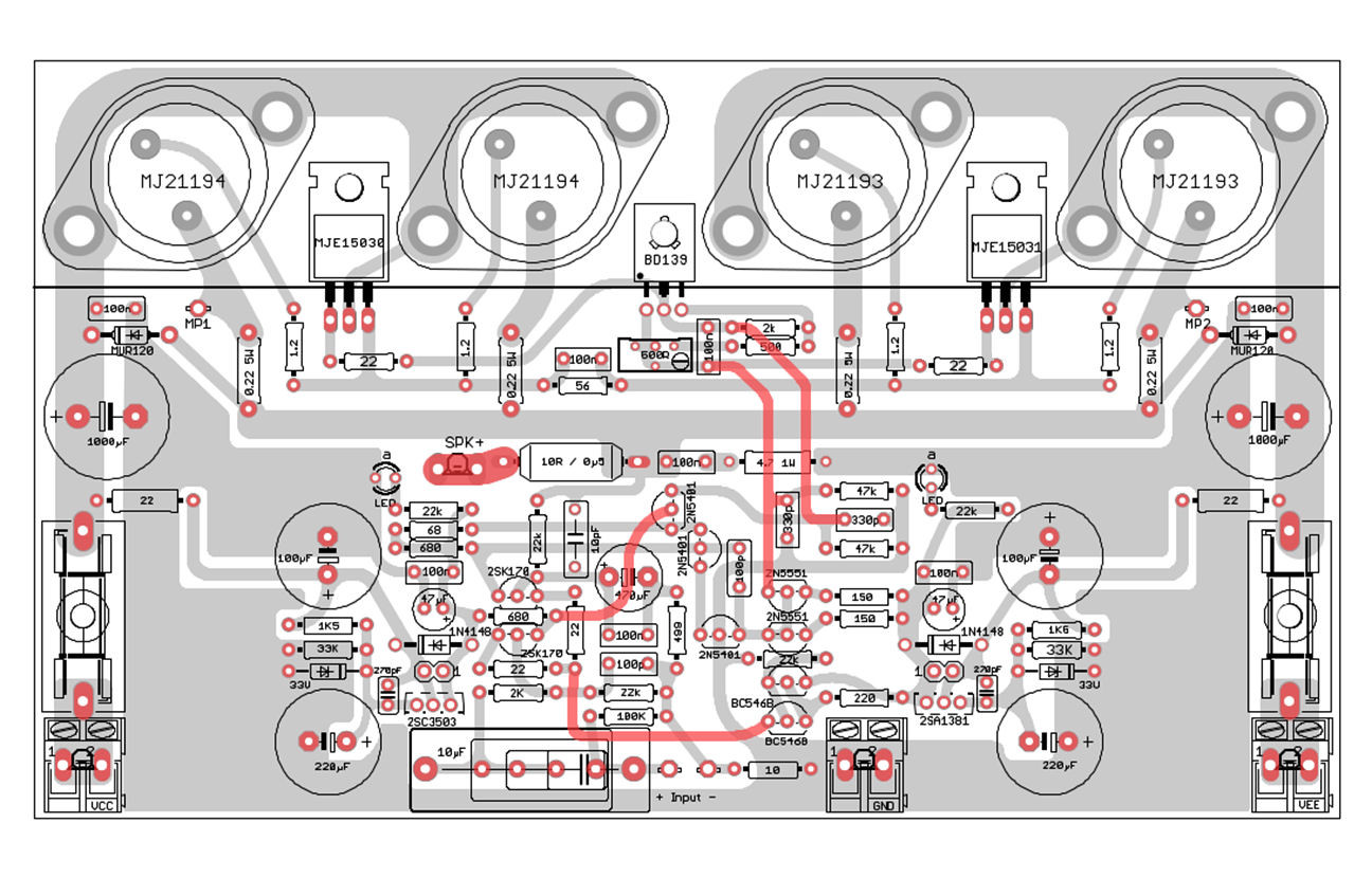 32w Hi Fi Power  lifier Tda2050 moreover 150w Mosfet Anfi as well Circuit Diagram 15w El84 Power   And A Transformer Power Supply Schematic likewise 60918 Explendid  lifier Designed Michael Bittner Our Mikeb 384 together with Index1. on transistor audio amplifier